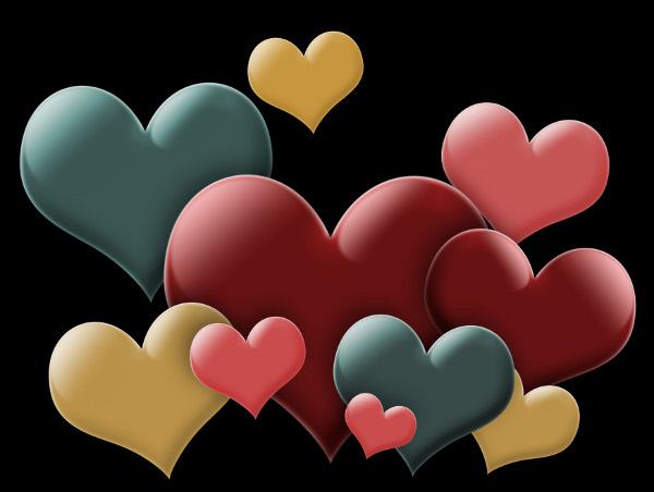 Romantiche cartoline d'amore per san valentino: dillo con una love