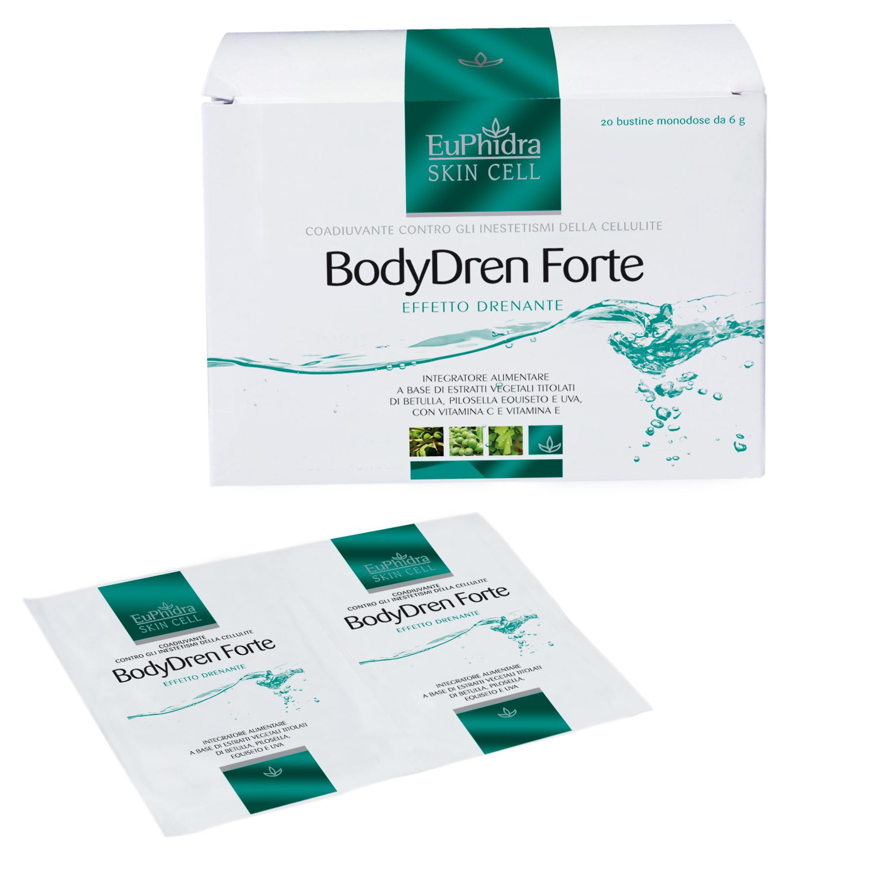 Euphidra Skin Cell BodyDren Forte: l'integratore solubile..