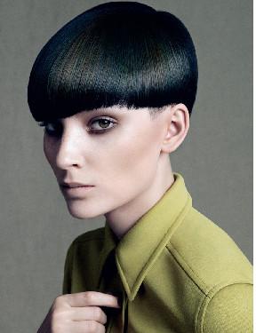 Tagli di capelli geometrici