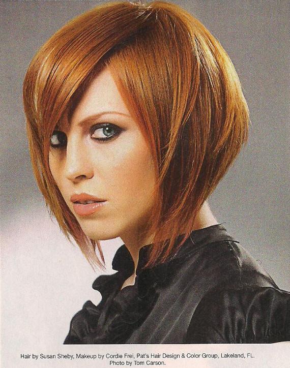 Foto di tagli di capelli a carre'