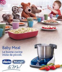 Idea regalo baby meal chicco de longhi me un robot - Robot da cucina chicco ...