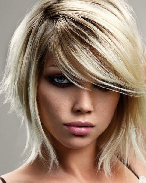 Favoloso Tagli di capelli femminili a lunghezza media: foto e idee - Ma  VS65