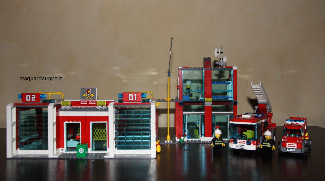 Caserma Dei Pompieri Lego City Acquistata A Basso Prezzo E